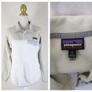 Patagonia Synchilla Snap Fleece Pullover Sweater M